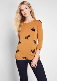 ModCloth ModCloth Statement Maker Pullover Sweater