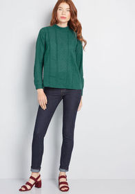 ModCloth ModCloth Twist of Victorian Long Sleeve T