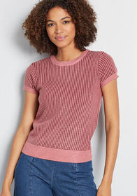 ModCloth ModCloth Commencing Casual Short Sleeve S