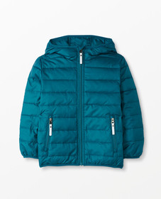 Hanna Andersson Superlight Down Jacket in Trek Tea