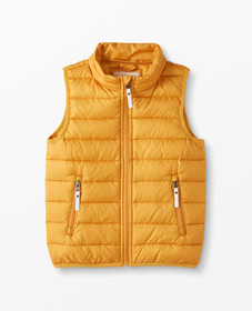Hanna Andersson Superlight Down Vest in Golden Hou
