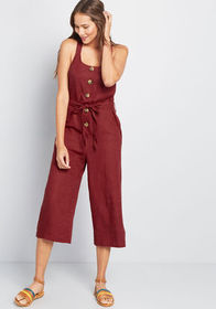 ModCloth ModCloth Brightest Idea Cropped Jumpsuit