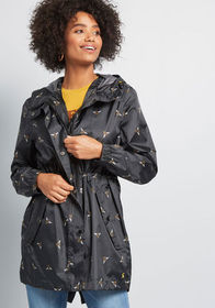 Joules Joules The Showers That Be Raincoat Black