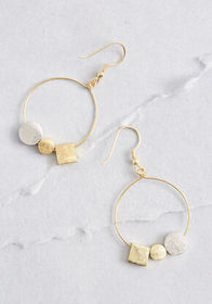 Mata Traders Mata Traders A Good Mix Hoop Earrings