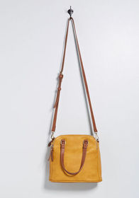 Hidden Spaces Satchel Mustard
