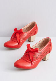 Icon of Acumen Oxford Heel Red