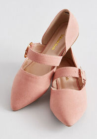 ModCloth ModCloth About the Buckles Mary Jane Flat