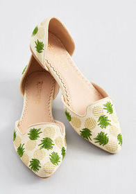 Well-Stepped Embroidered Loafer Natural Multi