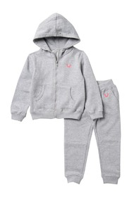 True Religion Classic Buddha Hoodie Set (Toddler G