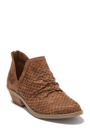 DV By Dolce Vita Perforated Cut Out Ankle Bootie