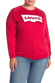 Levi's Relaxed Logo Pullover Sweatshirt (Plus Size