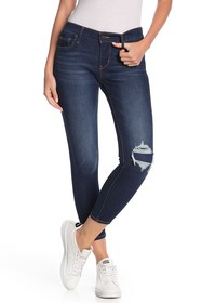 Levi's 710 Super Skinny Cropped Jeans