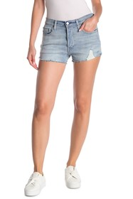 Levi's 501 Button Fly Distressed Shorts