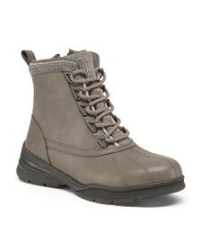 JSPORT Lace Up Weather Ready Boots