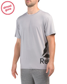 REEBOK Duration Short Sleeve Top