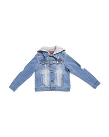 7 FOR ALL MANKIND Little Boys Denim Jacket