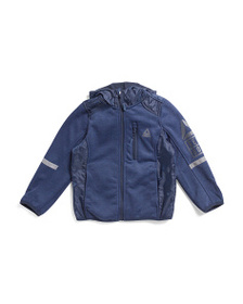 REEBOK Little Boys Hooded Jacket