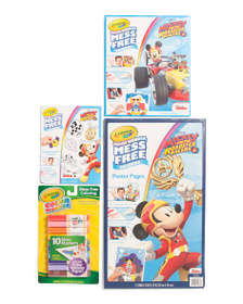 CRAYOLA Mess Free Mickey Mouse Coloring Bundle