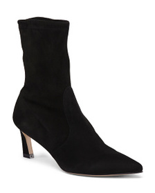 reveal designer Made In Spain Stretch Sock Booties