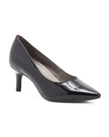 AEROSOLES Pointy Toe Patent Leather Pumps