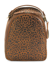 BORN Metro Leather Backpack
