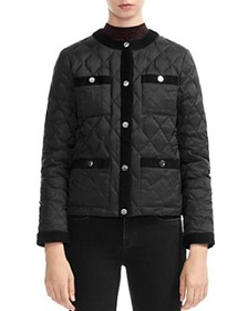 Maje - Galipe Quilted Coat