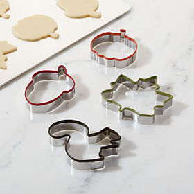 Crate Barrel Fall Cookie Cutters, Set of 4
