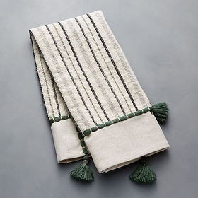 Crate Barrel NewArtisan Olive Dish Towel