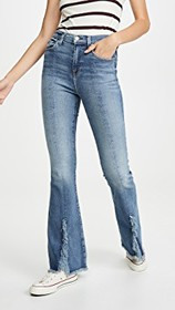 7 For All Mankind Exaggerated Kick Flare Jeans wit