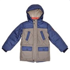 Boys Sherpa Lined Hooded Parka Jacket (2T-7)