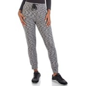 DAISY FUENTES Fleece Spacedye Joggers