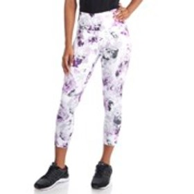 VOGO Floral Active Running Capri Leggings