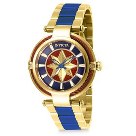 Disney Marvel's Captain Marvel Watch for Women by