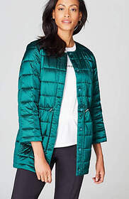 Christian Siriano For J.Jill Puffer Coat