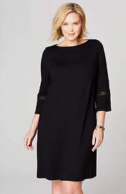 Wearever Lace-Trimmed Dress