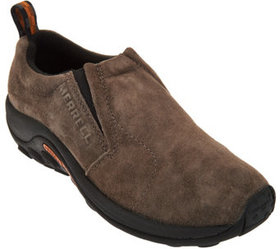 Merrell Suede Slip-on Shoes - Jungle Moc - A284901