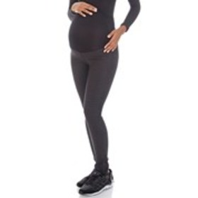 Skinny Ponte Maternity Pants with Zip Ankle
