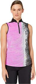 Jamie Sadock Wave Print Sleeveless Top