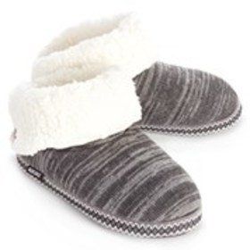 MUK LUKS Muk Luks Womens Fleece Lined Knit Bootie