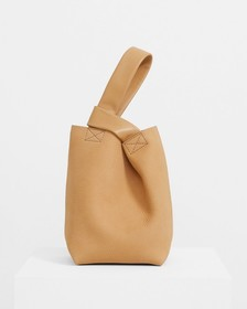 Small Urban Bucket Bag in Nubuck Leather