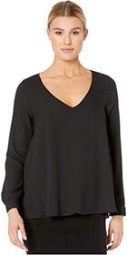 Karen Kane Cross-Back Top