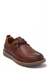 Born Carva Leather Lace Up Loafer