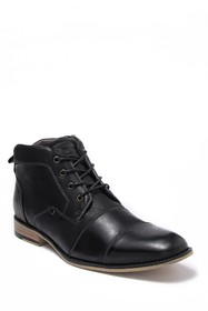 Steve Madden Leather Lace Up Boot