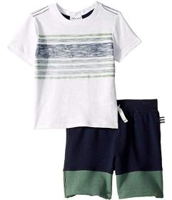Splendid Littles Reverse Printed Tee Set (Toddler\