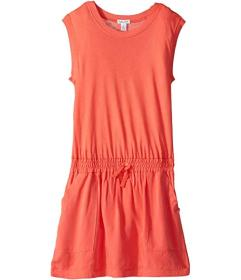 Splendid Littles Knit Woven Mix Dress (Big Kids)