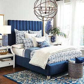 Liliana Ikat Quilted Bedding