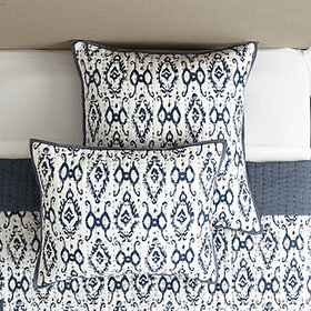 Liliana Ikat Quilted Sham