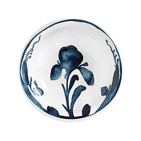 Bunny Williams Watercolor Iris Melamine Bowl - Set