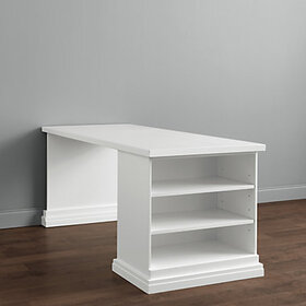 Original Home Office™ Return Desk with Open Shelf