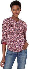 Lucky Brand Long Sleeve Printed Shirting